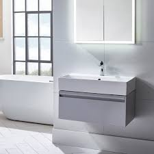 milano stone gloss white wall mounted vanity unit bathroom hanging vanity units bathroom vanity