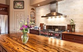 wood kitchen island top zebrawood custom wood countertops island tops table tops