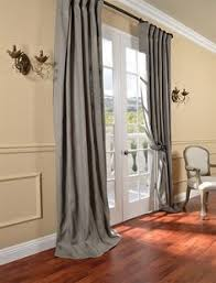 exclusive fabrics belgium linen natural curtain panel by exclusive