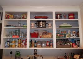 Kitchen Cabinets Open Shelving Kitchen Gorgeous Open Kitchen Shelves Further White Open Kitchen