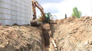 digging a sewer trench youtube