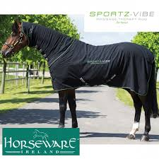 buy online horseware sportz vibe massage therapy horse rug at