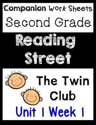 reading street unit 1 week 1 centers worksheets second grade the