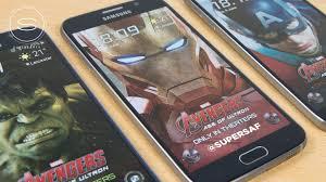 galaxy themes store apk galaxy s6 iron man hulk avengers edition free themes supersaf tv