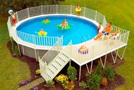 Above Ground Pool Landscaping Ideas Best Above Ground Pool Designs Ideas And Pictures 2017