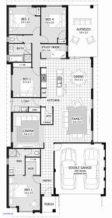 house plans narrow lot fresh narrow lot house plans home design