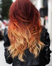 colour in hair 2015 one step to own your unique red ombre hair color vpfashion