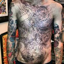 mens full chest tattoos mens full chest tattoos 15 angel chest