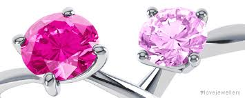 rings pink diamonds images 10 affordable pink engagement rings jewellery watch magazine jpg