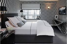 20 trendy bedrooms with geometric wallpaper designs home design