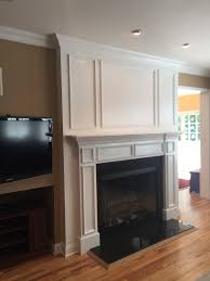 crown molding fireplace mantel home design wonderfull amazing