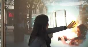 digital window sony digital foam interactive window display best window displays