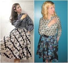 Mixed Patterns by Ways To Wear A Circle Skirt