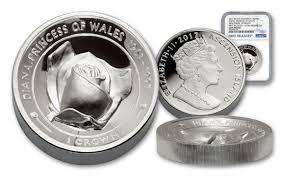 2017 2 oz silver princess diana uhr piedfort proof ngc gemfr