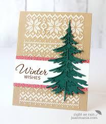 card christmas tree trees timholz woodland tree tim holtz stencil