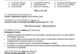 Kindergarten Teacher Resume Sample by Teacher Resume Elementary Teacher Resume Sample