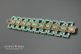 beading bracelet images Tutorial buttons bracelet sidonia 39 s beads jpg