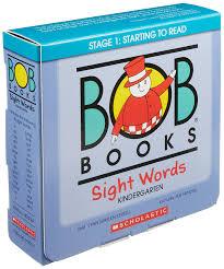 amazon com bob books sight words kindergarten 9780545019231