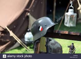Helmet Chair Stahlhelm German Helmet Hanging On Chair Dr Friedrich Schwerd