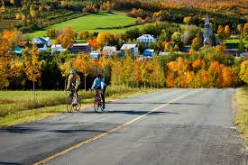 si ge b b la route cycling québec bike paths excursions cycling routes in québec