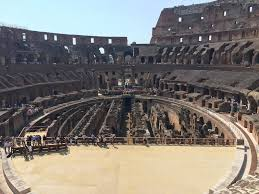 the flavian amphitheatre fans and football how the colosseum