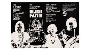 Ginger Baker Blind Faith The Electric Circus Presents The Supergroup Of All Time Blind