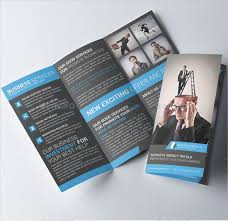 free tri fold business brochure templates 20 free best business brochure designtemplates business