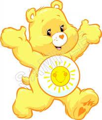 care bears rainbow shirt iron transfer decal 6 care bears