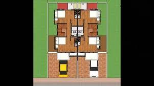 duplex model house design india youtube