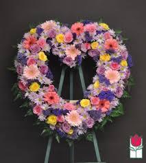 flower delivery honolulu funeral flowers honolulu hff aikahi heart wreath honolulu hi