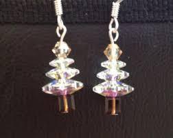 swarovski tree necklace in gold