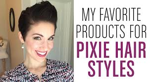 hair products for pixie cut my favorite products for pixie hair youtube
