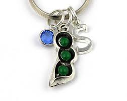 3 peas in a pod jewelry 3 peas in a pod etsy