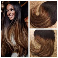 European Weave Hair Extensions by 5 Star Ombre Balayage Cuticle Remy Human Hair Keratin Fusion