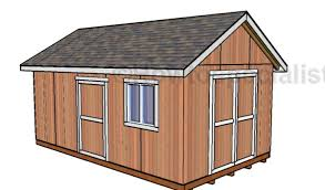 12 X 20 Barn Shed Plans 12x20 Shed Plans Free Howtospecialist How To Build Step By