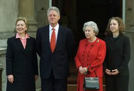 where does hillary clinton live queen elizabeth and u s presidents photos abc news