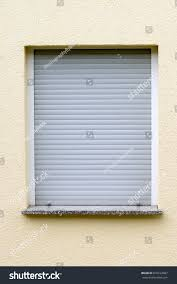 Garage Door Blinds by Blinds On Window Stock Photo 670162687 Shutterstock