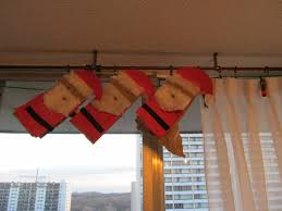 high park home daycare paper bag santa puppets