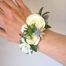 corsage flowers floral cuff corsage style but with different composition