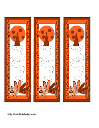 thanksgiving bookmarks printables