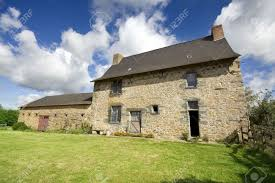 an example of a 16th century french stone house in northern france