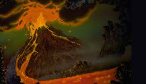 the mountains that burn land before time wiki fandom powered