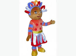 upsy daisy iggle piggle night garden fancy dress mascot
