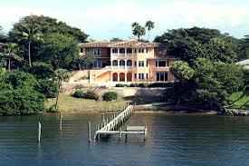 Luxury Mediterranean Homes Waterfront Mediterranean Villa In Stuart Florida Luxury Homes