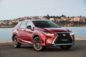 lexus jeep rx series lexus reveals two more rx models