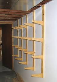 plywood storage rack free plans plans diy free download mobile bar