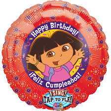 singing balloon delivery the explorer happy birthday singing singatune balloons
