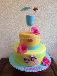 cocktail party cake simply luscious cakes pinterest