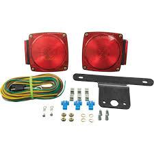 blazer led trailer lights blazer led trailer lighting kit for vehicles under 80in wide red