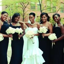 wedding bridesmaid dresses black bridesmaid dresses